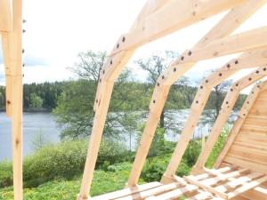 käsitööpalkmaja sarikad rootsis